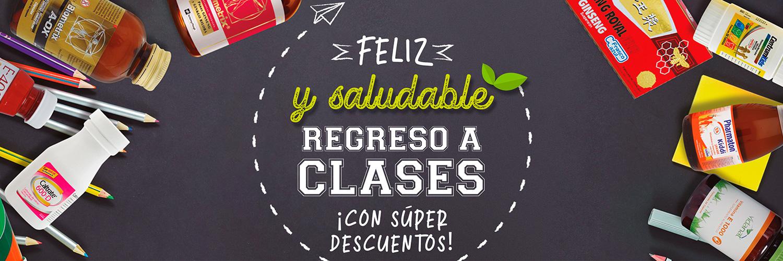 Feliz y saludable regreso a clases ¡Con súper descuentos!
